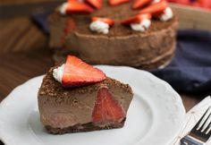 Triplacsokis-epres torta sütés nélkül