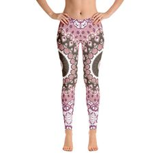 4536b09edbeb1 Mandala Leggings for Women Printed Workout Leggings Custom Yoga Shorts, Yoga  Pants, Girls In