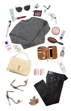 """""""Everlong"""" by triomphevictorieuse ❤ liked on Polyvore featuring American Apparel, BRAX, NARS Cosmetics, Rimmel, Bobbi Brown Cosmetics, Christian Dior, Revlon, Nivea, Givenchy and Anastasia Beverly Hills"""
