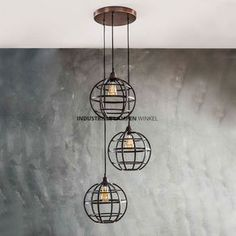 Vico Globe - hanglamp - 50 x 150 cm - antiek koper Pendant Lamp, Pendant Lighting, Suspension Vintage, Bohemian Living Rooms, Vintage Industrial Furniture, Pipe Lamp, Furniture Deals, Moroccan Decor, Eclectic Decor