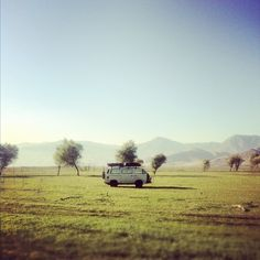 Travel...Love driving round in vans! :)
