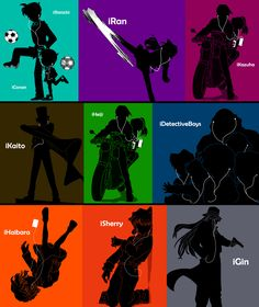 iPods of Detective Conan by Mosflow