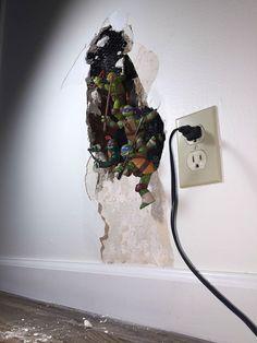 How to Fix a broken wall  broken-wall-ninja-turtles-1
