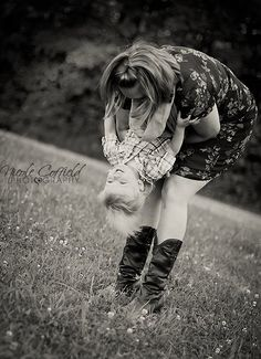 country family photography - mom and son playing - toddler photo ideas