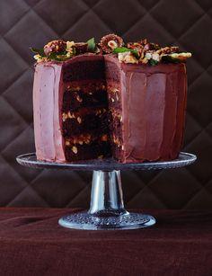 Maailman muhkein suklaakakku   Juhli ja nauti, Jälkiruuat, Makea leivonta   Soppa365