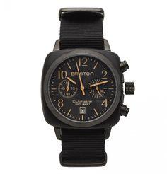 Black Chrono Date OS21 Watch