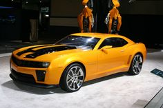 Chevrolet Camaro Transformers Edition The Transformer Is Version Of American Muscle For Movie