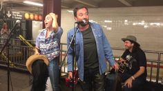 Miley Cyrus and Jimmy Fallon Surprise NYC Subway Performance 06/13/17 - YouTube