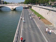 Taxi moto : Travaux sur les Berges à Paris Taxi Moto, Berges, Paris