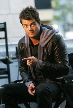 """Josh Duhamel.   Kate and I were in love with him during his Leo Depury phase on """"All My Children"""" WAY before he was cool!"""
