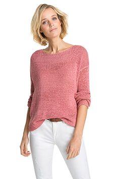 Esprit - Lockerer Bändchengarn-Sweater im Online Shop kaufen