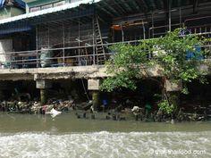 Ufer des Maha Nag Khlong Bangkok, Thai Recipes, Adventure, Thai Food Recipes