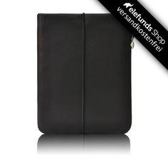 #Vandebag - #iPad Skin - schwarz - echtes Rinderleder und handgefertigt - 93,00€ - Versand kostenlos
