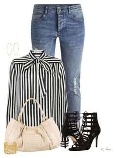 """It's all or nothing!"" by ksims-1 ❤ liked on Polyvore featuring Philosophy di Lorenzo Serafini, Nancy Gonzalez, Brooks Brothers, Michael Kors and River Island"