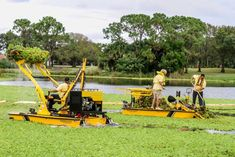 Photo Gallery | Pond Cleaning Services | Aquatic Weed Control Heavy Equipment, Outdoor Power Equipment, Pond Cleaning, Weed Control, Cleaning Services, Location Map, West Palm Beach, Lawn Mower, Photo Galleries