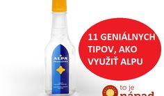 Nechýba hádam v žiadnej domácnosti. Cleaning Hacks, Cleaning Supplies, Nordic Interior, Home Gadgets, Spray Bottle, Good To Know, How To Stay Healthy, Vodka Bottle, Herbalism