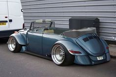 Sweet convertible VW Bug