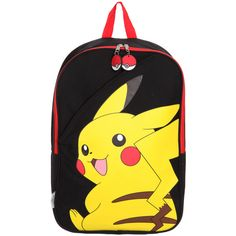 Pokemon Pikachu Backpack | Hot Topic ($30) ❤ liked on Polyvore featuring bags, backpacks, pokemon, accessories, pikachu, day pack backpack, yellow backpack, backpack bags, yellow bag and rucksack bags