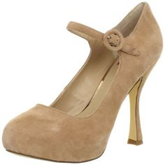 DV by Dolce Vita Womens Pippi Mary Jane Pump,Blush Suede
