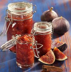 Confiture de figues à la cannelle (Facile)