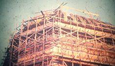 Cúpula do Santuário Santa Isabel Rainha em Construção (anos 60) Colaborou com a foto: Tammaro Luigi Giaccio