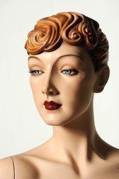 "Details about Vintage Female Mannequin for Sale Decter's ""Isadora"" NEW Vaudeville Mannequins Vintage Female Mannequin for Sale Decter's ""Isadora"" NEW Vaudeville Mannequins [br] Mannequin For Sale, Vintage Mannequin, Dress Form Mannequin, Mannequin Heads, Vintage Dolls, Tamara Lempicka, Store Mannequins, Manequin, Estilo Art Deco"