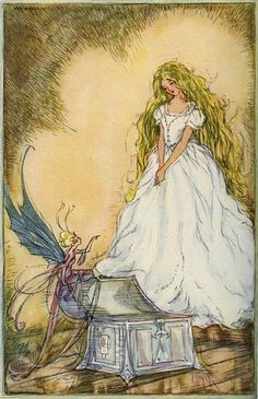 """Alice Helena Watson ~ Fairy Trunk ~ The Golden Weathercock ~ 1934 ~ via """"Now you look as people ought to look."""""""
