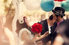 Rockabilly wedding.  Photographer Jessica Velarde.