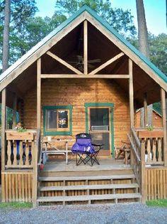Old Style Barebones Cabin