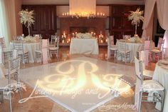 Danielle & Tanail wedding affair in Cabo! Love how romantic the Blush and Silver design came out!