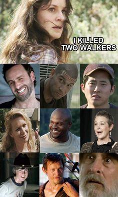 The Walking Dead funny memes Walking Dead Jokes, Walking Dead Show, Walking Dead Pictures, Walking Dead Tv Series, Walking Dead Zombies, Fear The Walking Dead, Z Nation, Twd Memes, Funny Memes