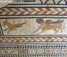 Mosaico romano en Medinaceli