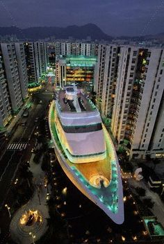 Shop on a ship on land at the Whampoa Shopping Center in Hong Kong. #Travel #TravelTips #Unique @travelfoxcom #HongKong