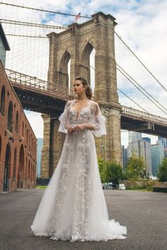 Свадебные платья Solo Merav 2018