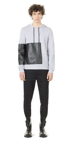 Balenciaga Greenland Hoody - Mootled Grey - Discover the latest collection and buy online Men on the Official Online Store : Balenciaga.com