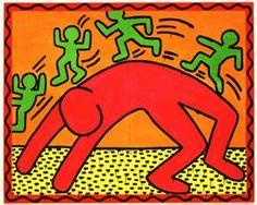 Fiche Haring pour cahier dhistoire des arts