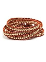 "our rust multi-wrap bracelet - part of this week's ""it's a wrap"" collection."