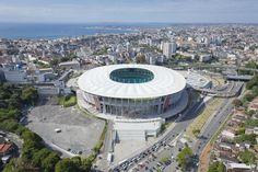 Estádio Octávio Mangabeira (Fonte Nova) - Salvador (BA) - Capacidade: 50 mil - Clube: Bahia