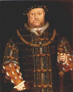 Henry VIII,1542, painted during his brief marriage to Catherine Howard.Health problems:  Age 23: Catches Smallpox but recovers.  Age 30: Catches Malaria, recovers but continues to suffer bouts throughout his life.  Age 33: Jousting accident, forgets to put the visor down and his hit in the head above right eye with a lance. After this he suffers from terrible migraines.  Age 36: Suffers a painful wrench foot during a tennis match  Age 36: Varicose Ulcers, used by tight garters .
