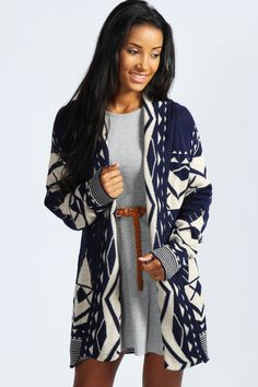 Sophie Aztec Cardigan... a versatile piece looking very stylish and comfortable.
