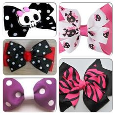 Current obsession: Hair bows.
