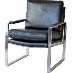 Milano Chair Black now featured on Fab.
