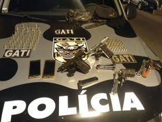 DE OLHO 24HORAS: Gati recebe denúncia anônima e prende suspeitos co...