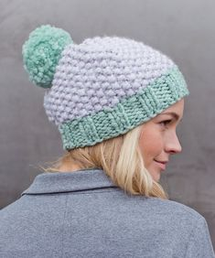 a59a9302cbc Elisabeth Moss Hat in MillaMia Naturally Soft Super Chunky - Downloadable  PDF Chunky Knitting Patterns