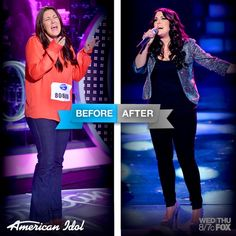 Check out Kree Harrison before and after!