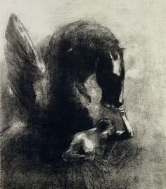 Pegasus, by Odilon Redo Wow!...What a master