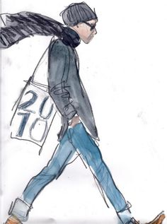 Richard Haines fashion illustrations