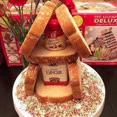 Gingerbread House.  Elf On The Shelf.  Ginger. Bread. Christmas Fun.  Christmas Tradition.  Christmas.  Santa's Elves.  Elves.  Elfin Around.