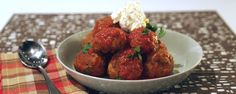Make delicious meatballs just like Billy Gardell!