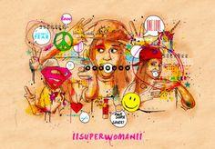 iiSuperwomanii - Inkquisitive Illustrations